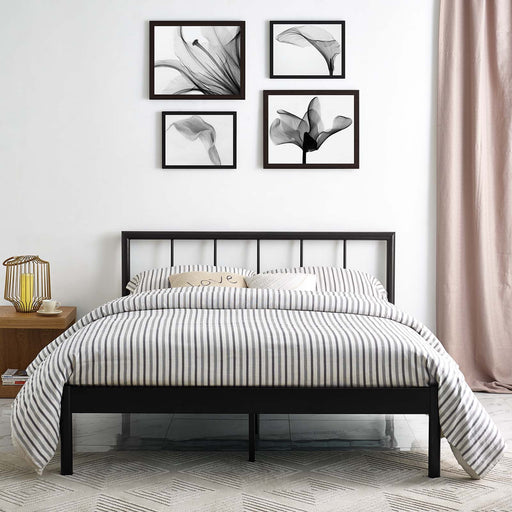 Gwen Metal Bed Frame-Bed-Modway-Wall2Wall Furnishings