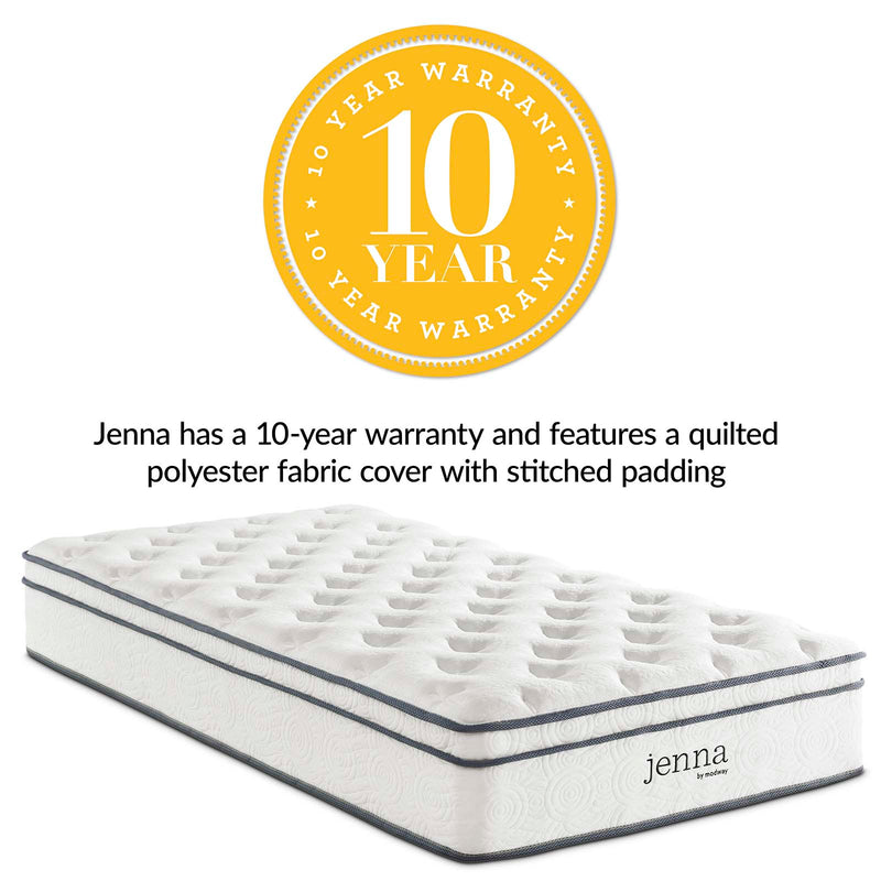 Jenna Innerspring Mattress-Mattress-Modway-Wall2Wall Furnishings