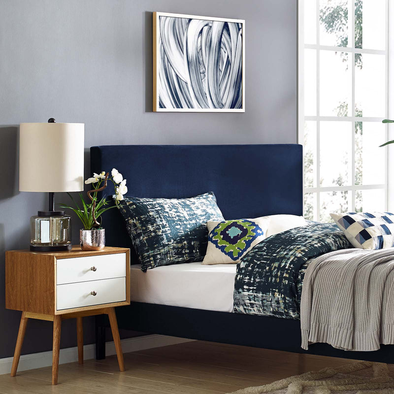 Taylor Upholstered Performance Velvet Headboard-Headboard-Modway-Wall2Wall Furnishings