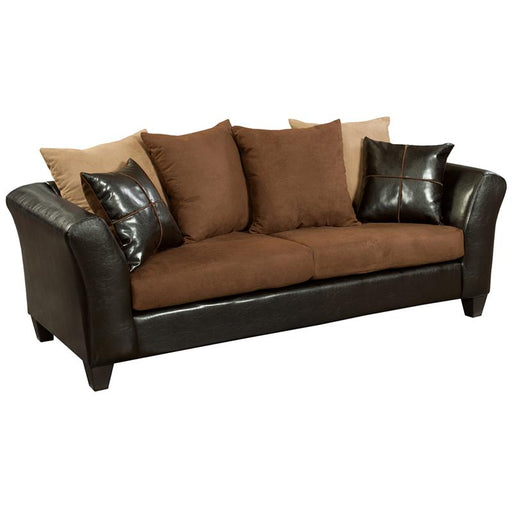 Riverstone Microfiber Sofa-Sofa-Flash Furniture-Wall2Wall Furnishings