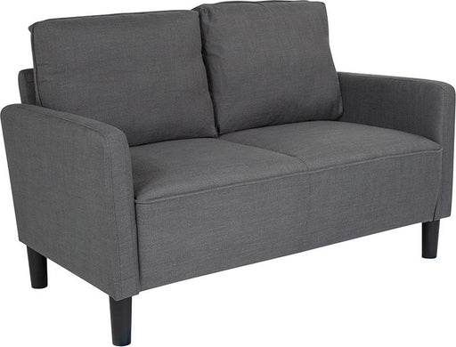 Washington Park Upholstered Loveseat-Loveseat-Flash Furniture-Wall2Wall Furnishings