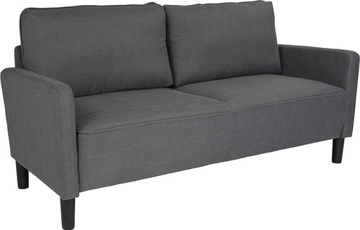 Washington Park Upholstered Sofa-Sofa-Flash Furniture-Wall2Wall Furnishings