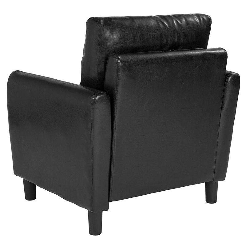 Candler Park Upholstered Chair-Chair-Flash Furniture-Wall2Wall Furnishings