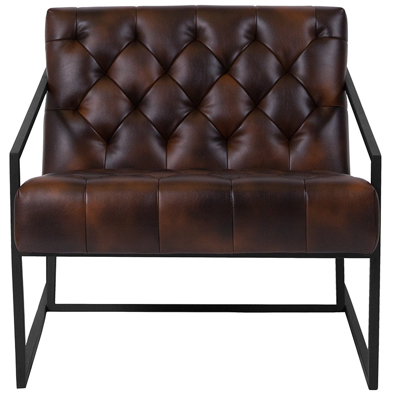 HERCULES Madison Series Tufted Lounge Chair-Lounge Chair-Flash Furniture-Wall2Wall Furnishings