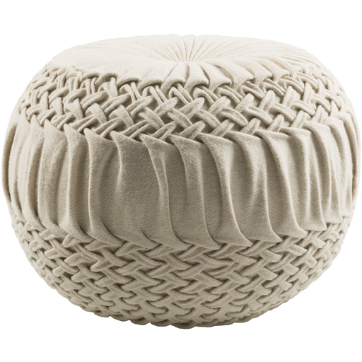 Alana Pouf AAPF001-Pouf-Surya-Wall2Wall Furnishings