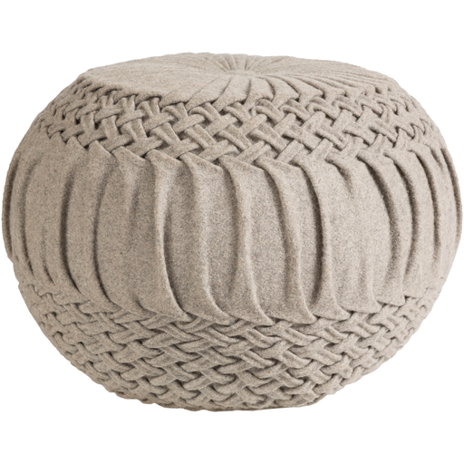 Alana Pouf AAPF002-Pouf-Surya-Wall2Wall Furnishings