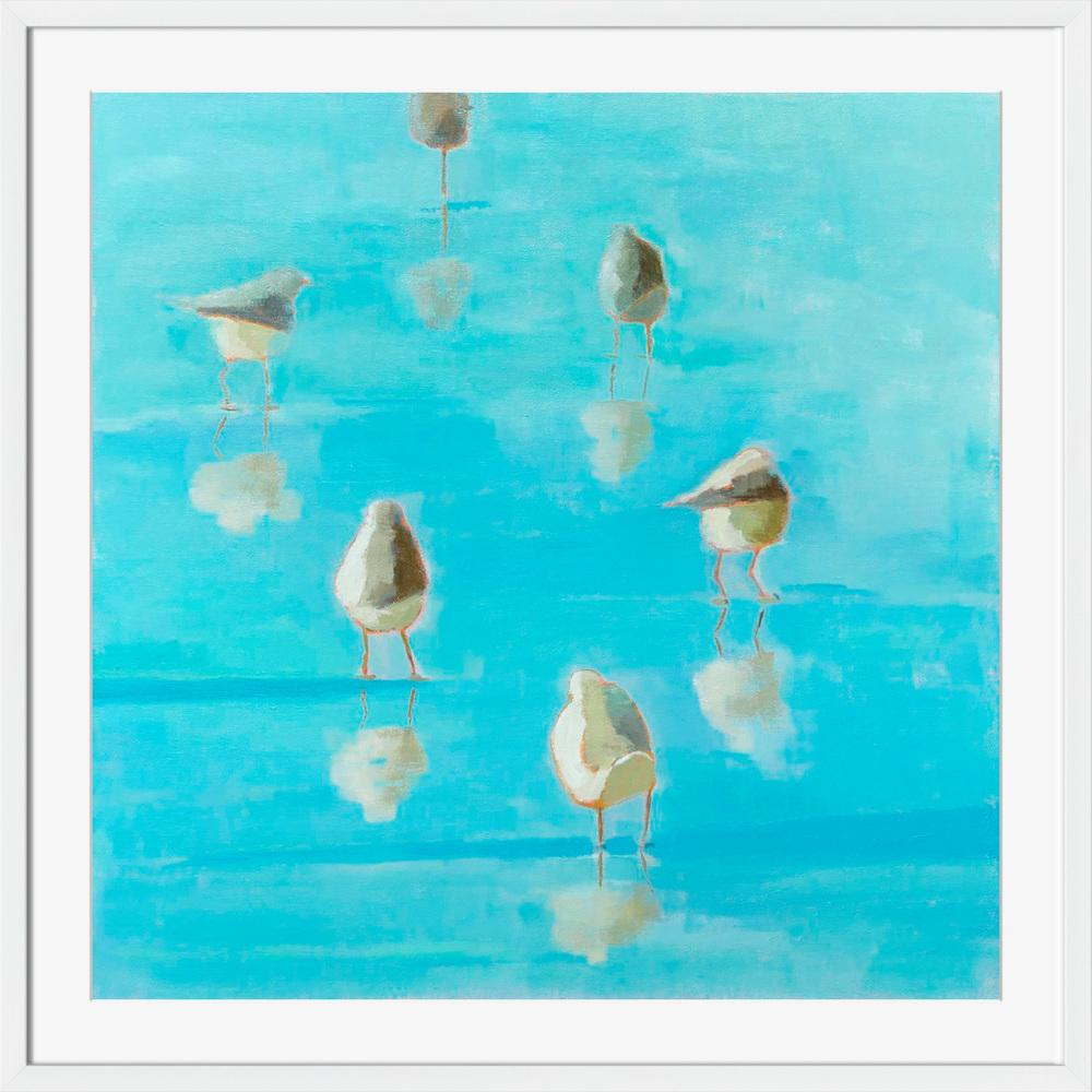 Birds By The Waters Edge II - Wall Art-Wall Art-Surya-Wall2Wall Furnishings
