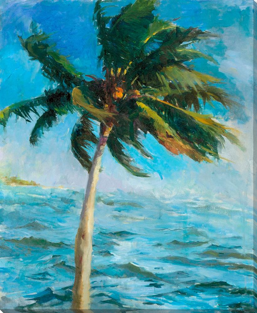 Biscayne Bay Coconut - Wall Art-Wall Art-Surya-Wall2Wall Furnishings