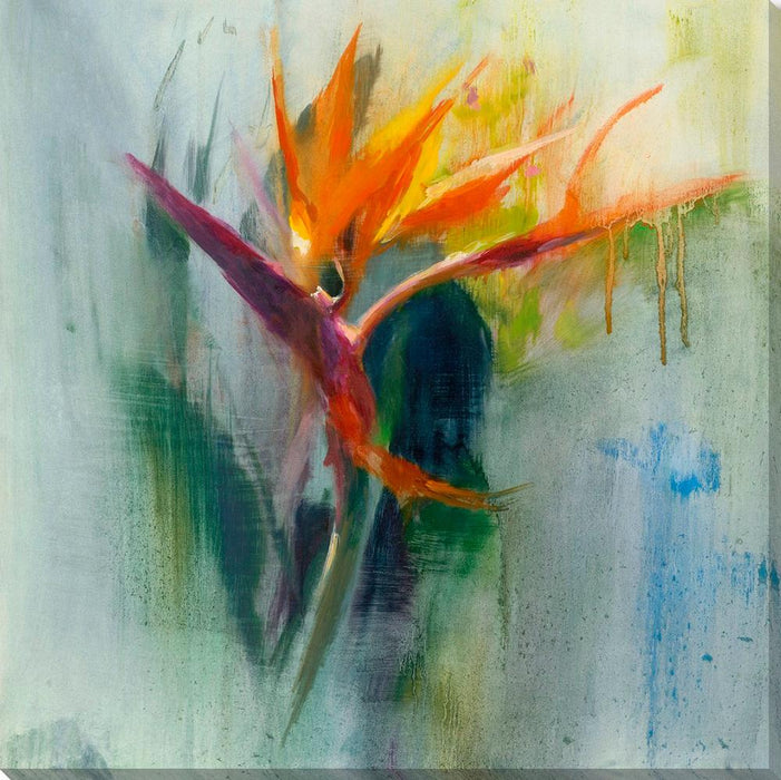 Bird of Paradise I - Wall Art-Wall Art-Surya-Wall2Wall Furnishings