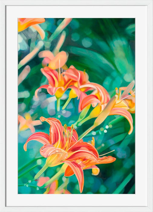 Tiger Lilies - Wall Art-Wall Art-Surya-Wall2Wall Furnishings