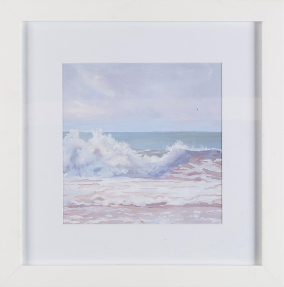 Atlantic Wave Burst Grey - Wall Art-Wall Art-Surya-Wall2Wall Furnishings