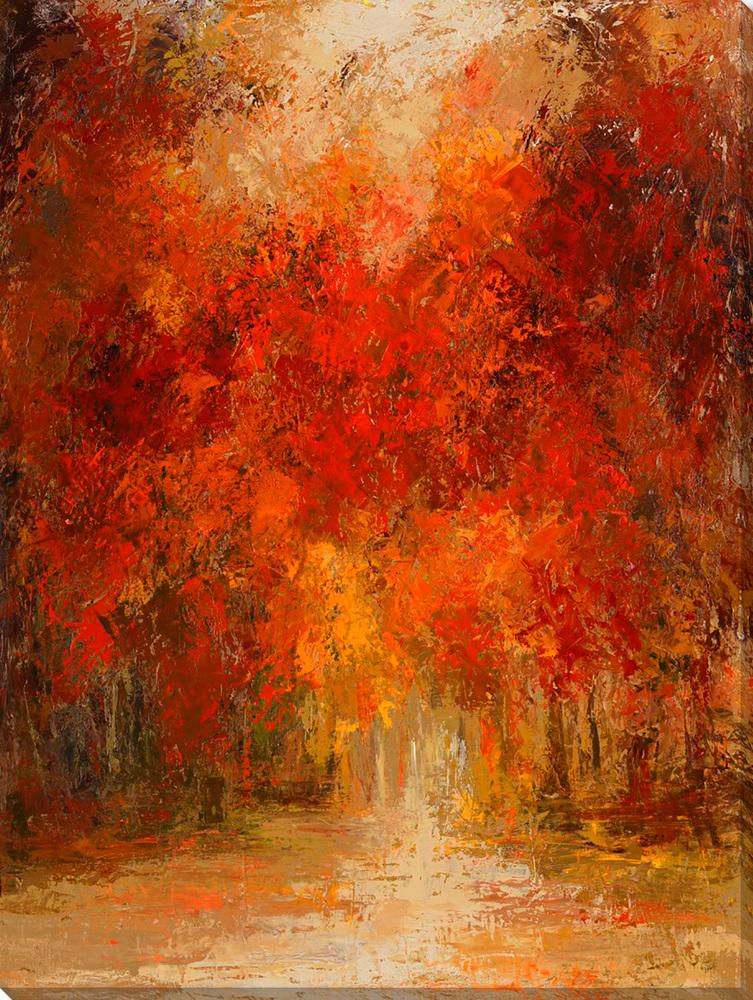 Sunny Autumn - Wall Art-Wall Art-Surya-Wall2Wall Furnishings