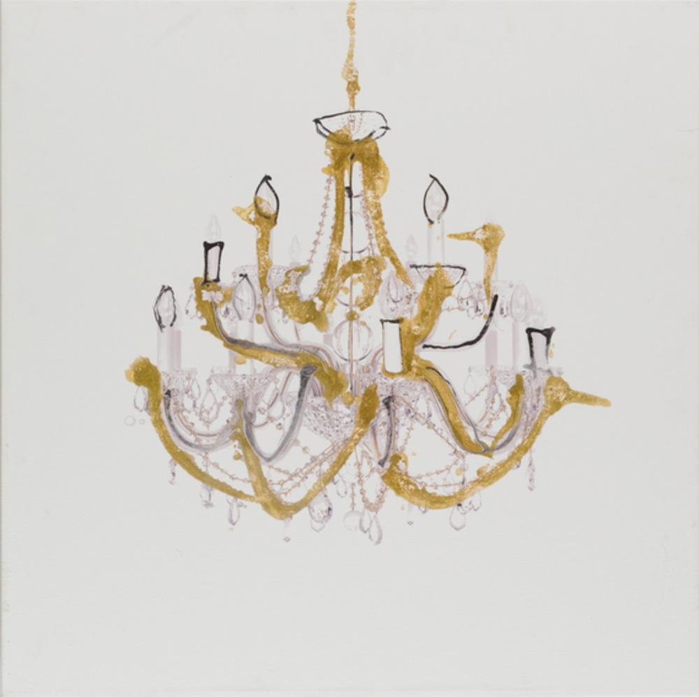 Chandelier - Wall Art-Wall Art-Surya-Wall2Wall Furnishings