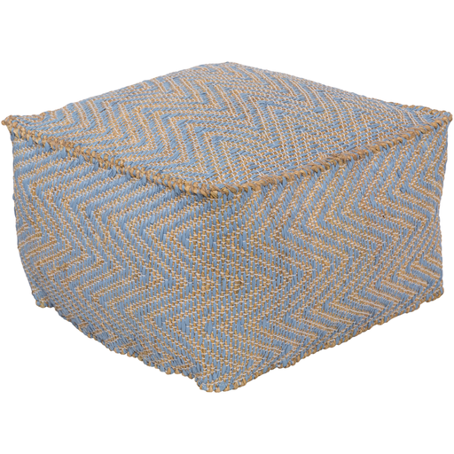 Bodega Pouf BDPF5002-Pouf-Surya-Wall2Wall Furnishings