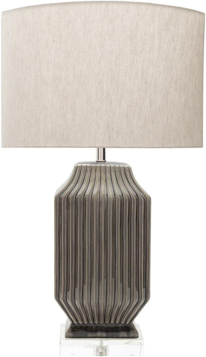 Blacklake Table Lamp 1-Table Lamp-Surya-Wall2Wall Furnishings
