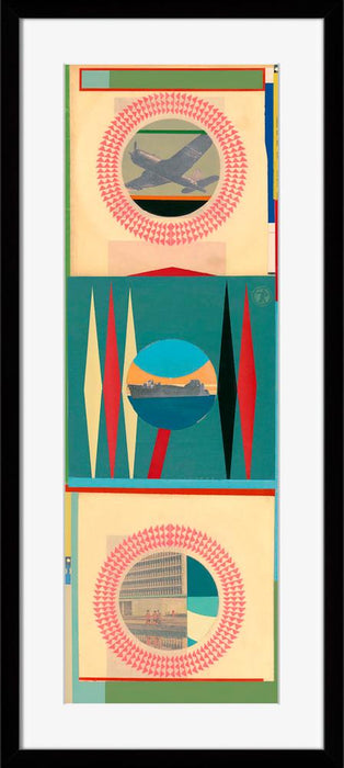 Geometric Blocks IV - Wall Art-Wall Art-Surya-Wall2Wall Furnishings