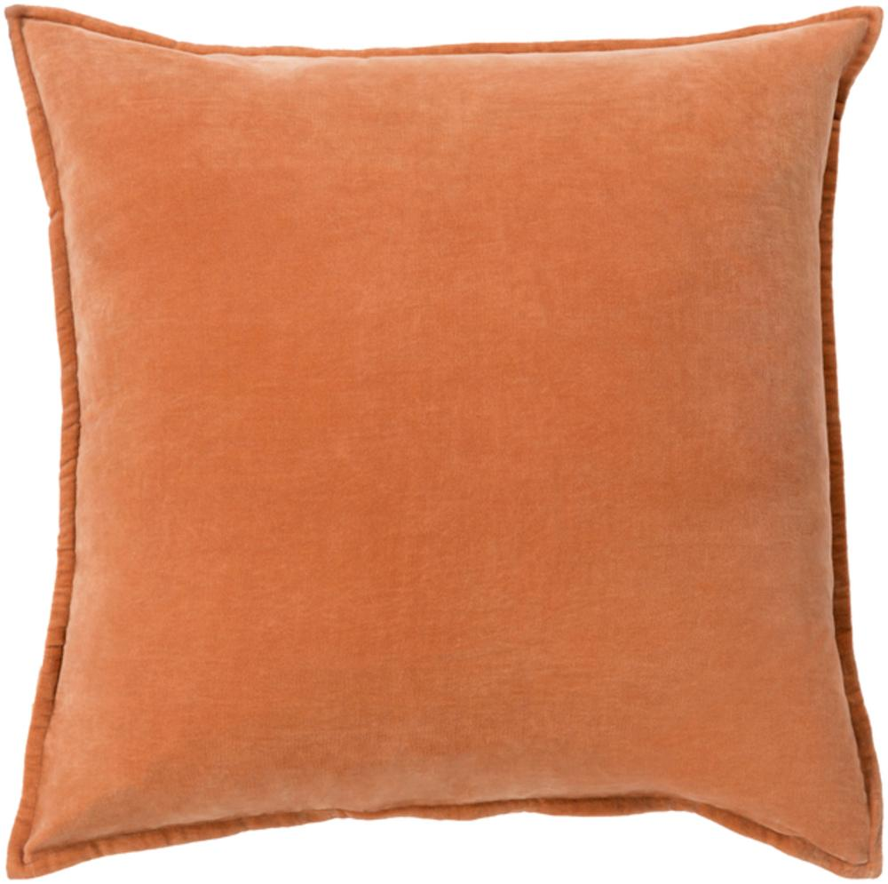 Cotton Velvet Pillow 2-Pillow Cover-Surya-Wall2Wall Furnishings