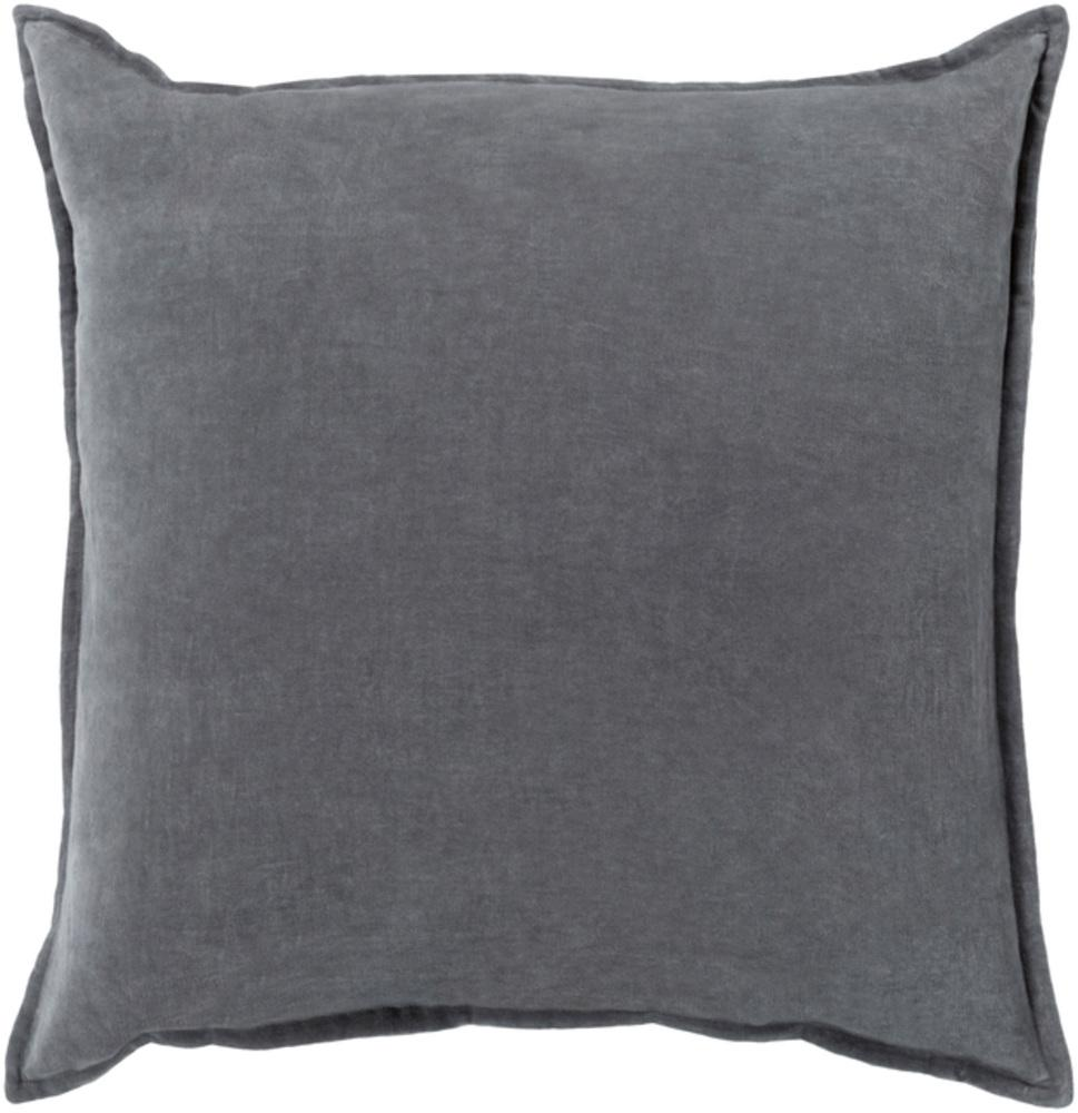 Cotton Velvet Pillow 3-Pillow Cover-Surya-Wall2Wall Furnishings