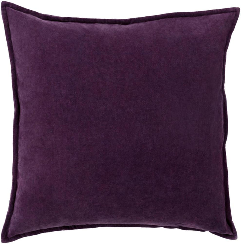 Cotton Velvet Pillow 6-Pillow Cover-Surya-Wall2Wall Furnishings