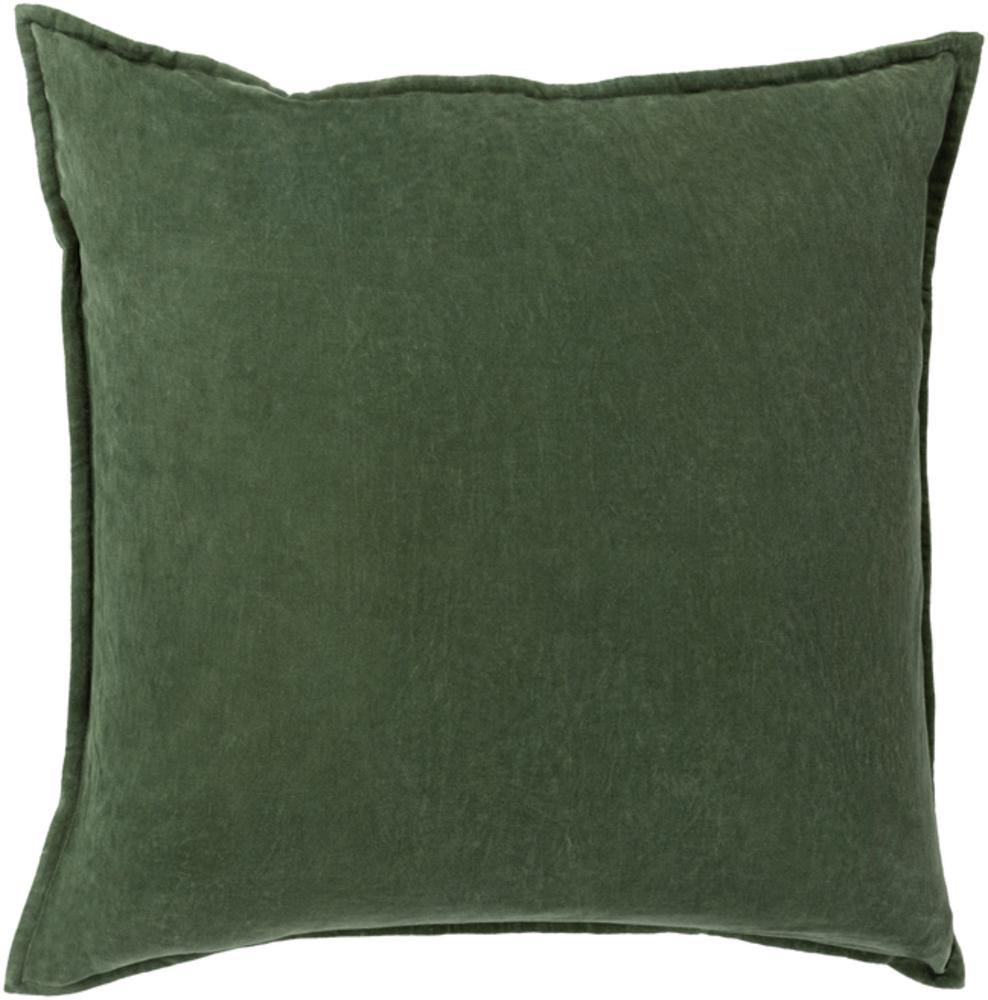 Cotton Velvet Pillow 8-Pillow Cover-Surya-Wall2Wall Furnishings
