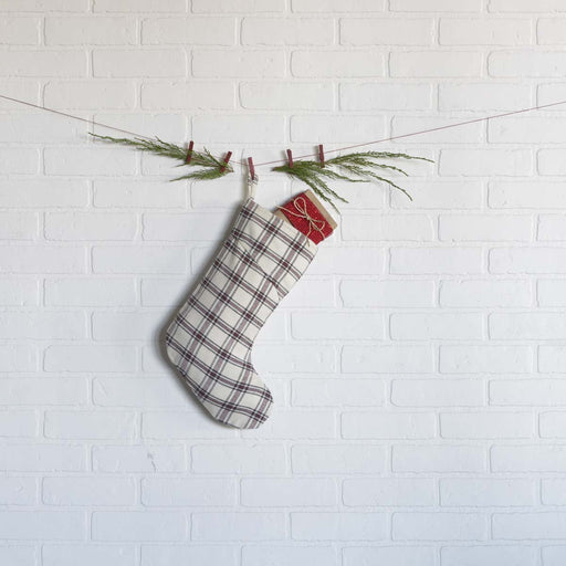 Amory Plaid Stocking-Stocking-VHC-Wall2Wall Furnishings