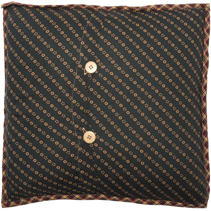 Patriotic Patch Quilted Pillow 16x16-Accent Pillow-VHC-Wall2Wall Furnishings