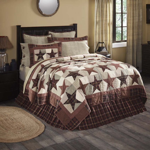 Abilene Star Quilt-Quilts & Quilt Sets-VHC-Wall2Wall Furnishings