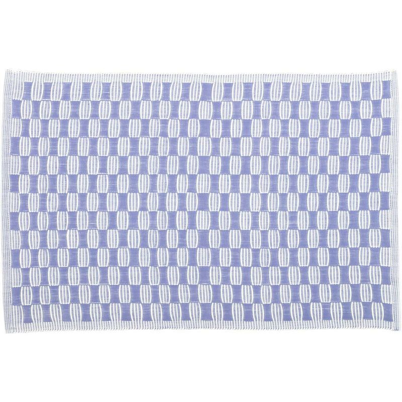 Chandler Ribbed Placemat Set of 6 12x18-Placemats & Napkins-VHC-Wall2Wall Furnishings