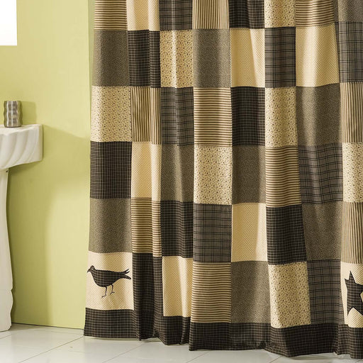 Kettle Grove Shower Curtain 72x72-Shower Curtain-VHC-Wall2Wall Furnishings