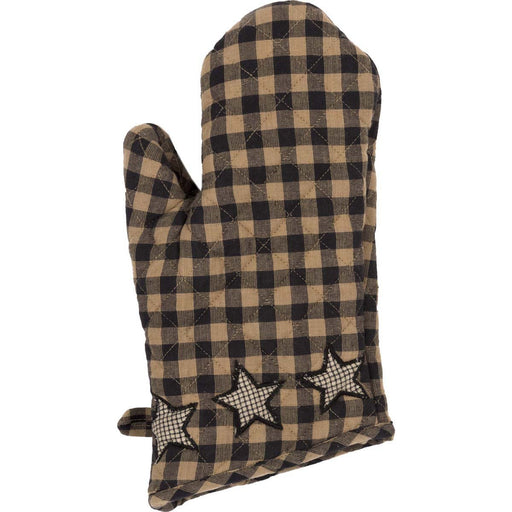 Farmhouse Star Oven Mitt-Trivets, Coasters, & Holders-VHC-Wall2Wall Furnishings