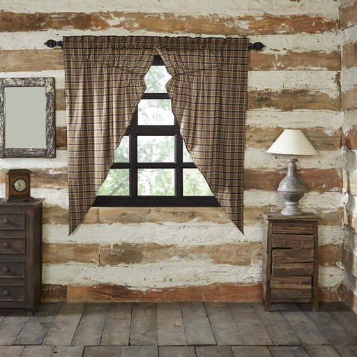 Wyatt Prairie Short Panel Curtain Set of 2 63x36x18-Prairie Swags & Curtains-VHC-Wall2Wall Furnishings
