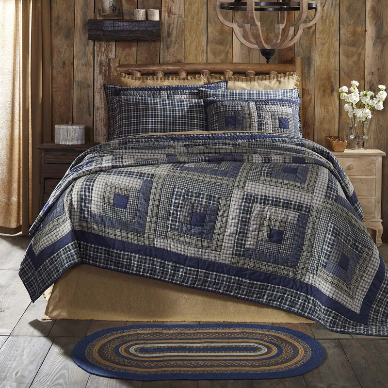Columbus Quilt-Quilts & Quilt Sets-VHC-Wall2Wall Furnishings