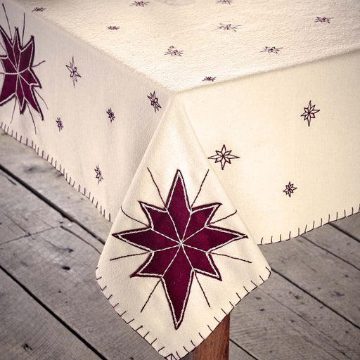 North Star Table Topper 40x40-Tablecloths & Toppers-VHC-Wall2Wall Furnishings