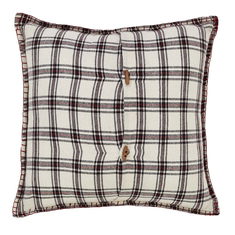 Amory Plaid Pillow 16x16-Accent Pillow-VHC-Wall2Wall Furnishings
