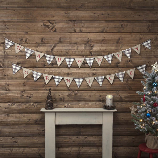 Amory Naughty Or Nice Banner Set of 2 10ft-Banner-VHC-Wall2Wall Furnishings