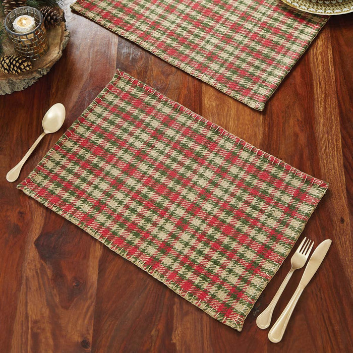 Claren Placemat Set of 6 12x18-Placemats & Napkins-VHC-Wall2Wall Furnishings