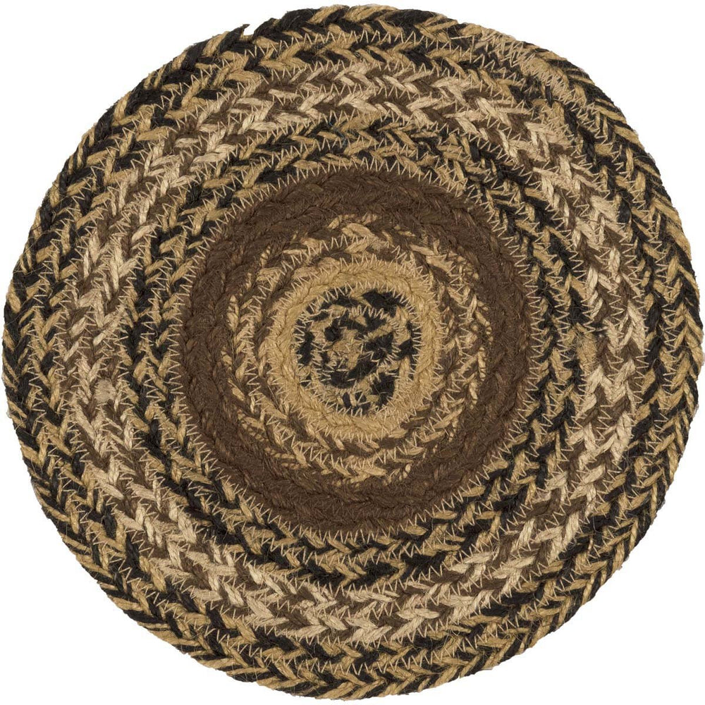Kettle Grove Jute Trivet 8-Trivets, Coasters, & Holders-VHC-Wall2Wall Furnishings