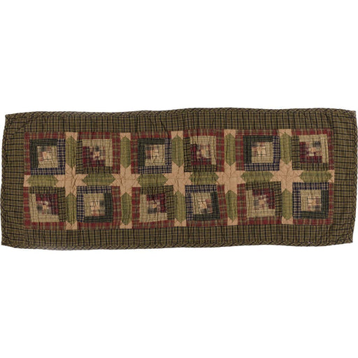 Tea Cabin Quilted Runner-Table Runner-VHC-Wall2Wall Furnishings