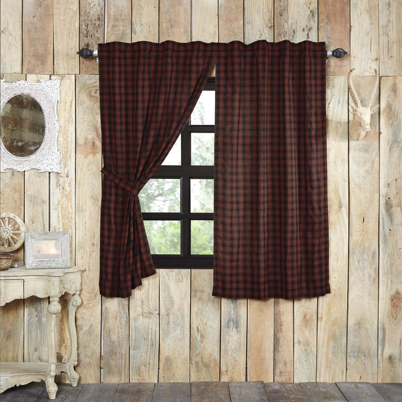Cumberland Short Panel Set of 2 63x36-Curtain Panel-VHC-Wall2Wall Furnishings