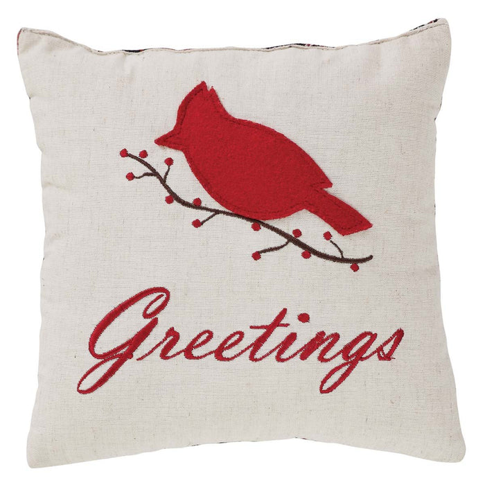 Seasons Greetings Pillow Set of 2 10x10-Accent Pillow-VHC-Wall2Wall Furnishings