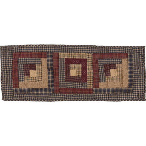 Millsboro Log Cabin Block Quilted Runner-Table Runner-VHC-Wall2Wall Furnishings