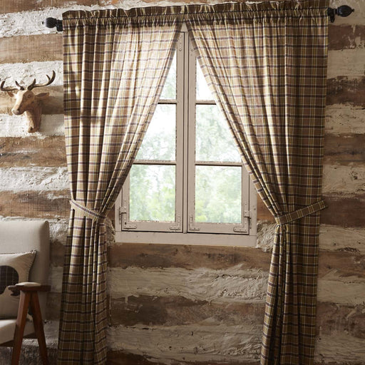 Wyatt Panel Set of 2 84x40-Curtain Panel-VHC-Wall2Wall Furnishings