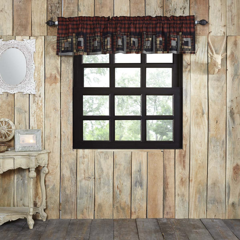 Cumberland Patchwork Valance-Valances & Balloon Valances-VHC-Wall2Wall Furnishings