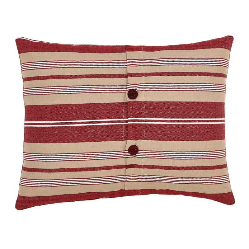 Vintage Stripe Noel Pillow 14x18-Accent Pillow-VHC-Wall2Wall Furnishings