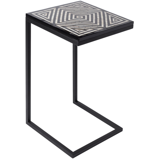 Dunn Accent Table 1-Accent Table-Surya-Wall2Wall Furnishings