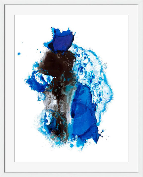 Cobalt Expanse IV - Wall Art-Wall Art-Surya-Wall2Wall Furnishings