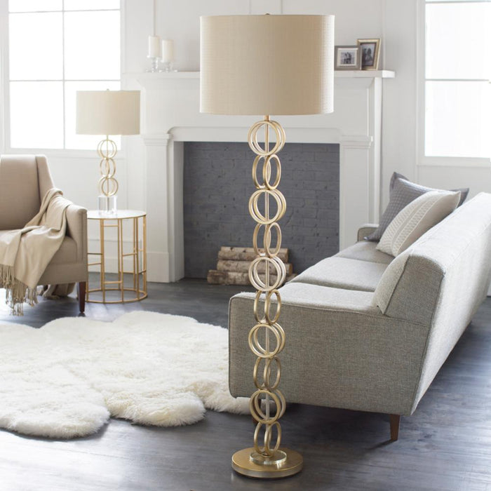 Evans Floor Lamp-Floor Lamp-Surya-Wall2Wall Furnishings