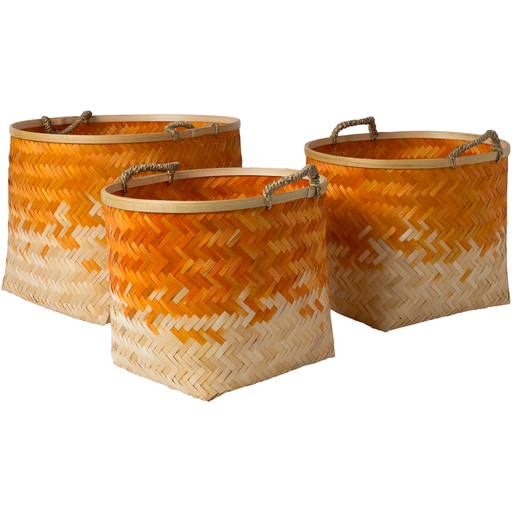 Forrestburg Basket Set 2-Basket Set-Surya-Wall2Wall Furnishings