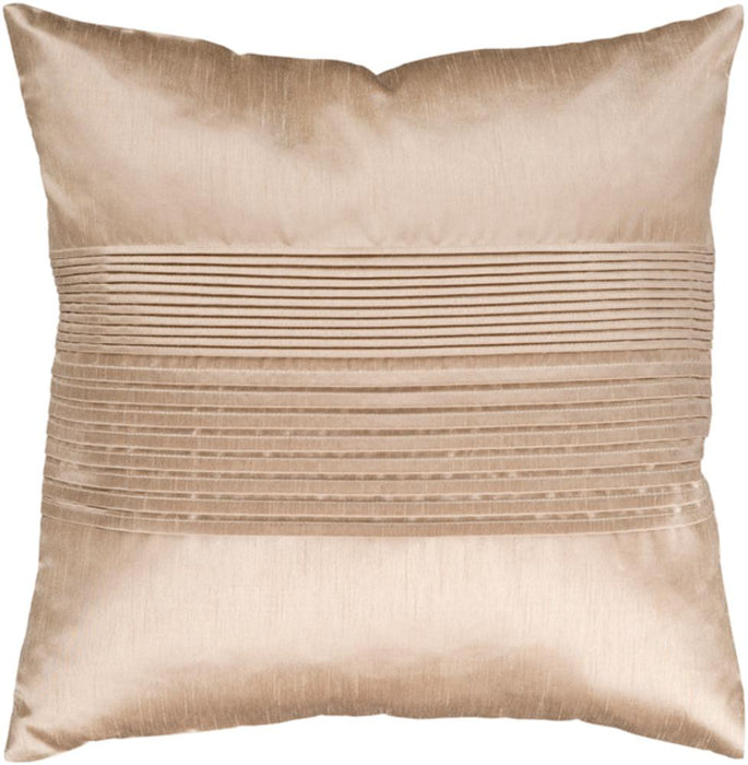 Solid Pleated Pillow 2-Pillow Cover-Surya-Wall2Wall Furnishings