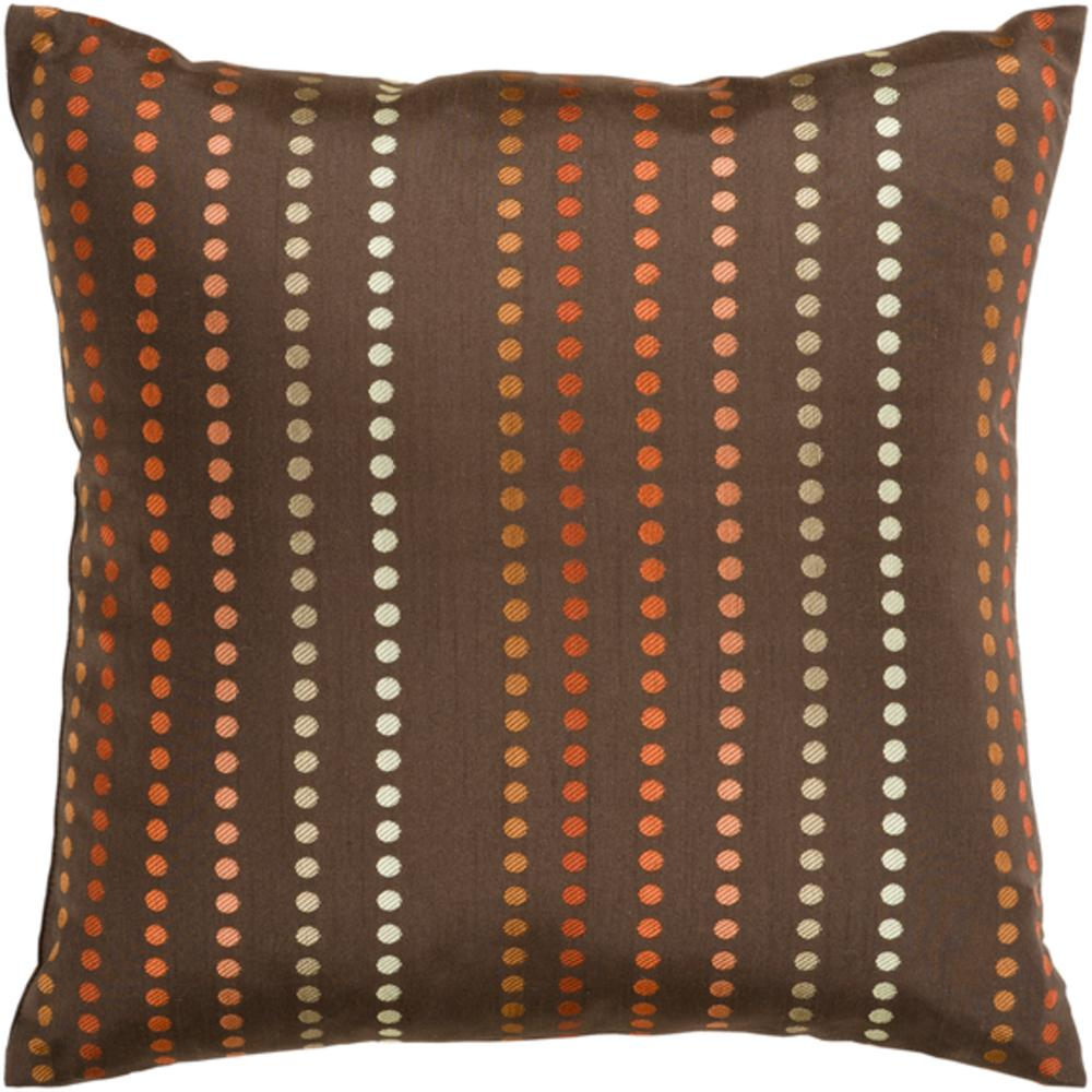 Dots Pillow-Pillow Cover-Surya-Wall2Wall Furnishings